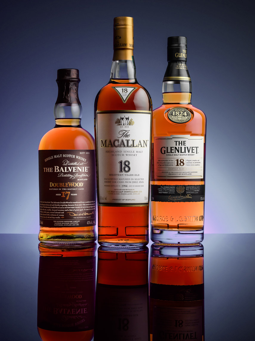 3_Single_Malt_Scotch_Whisky_Bottles